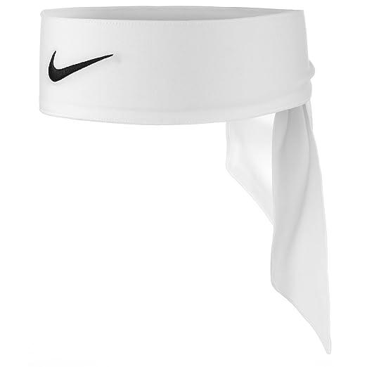 Nike Unisex Nike Dri-Fit Head Tie 2.0 White/Black One Size