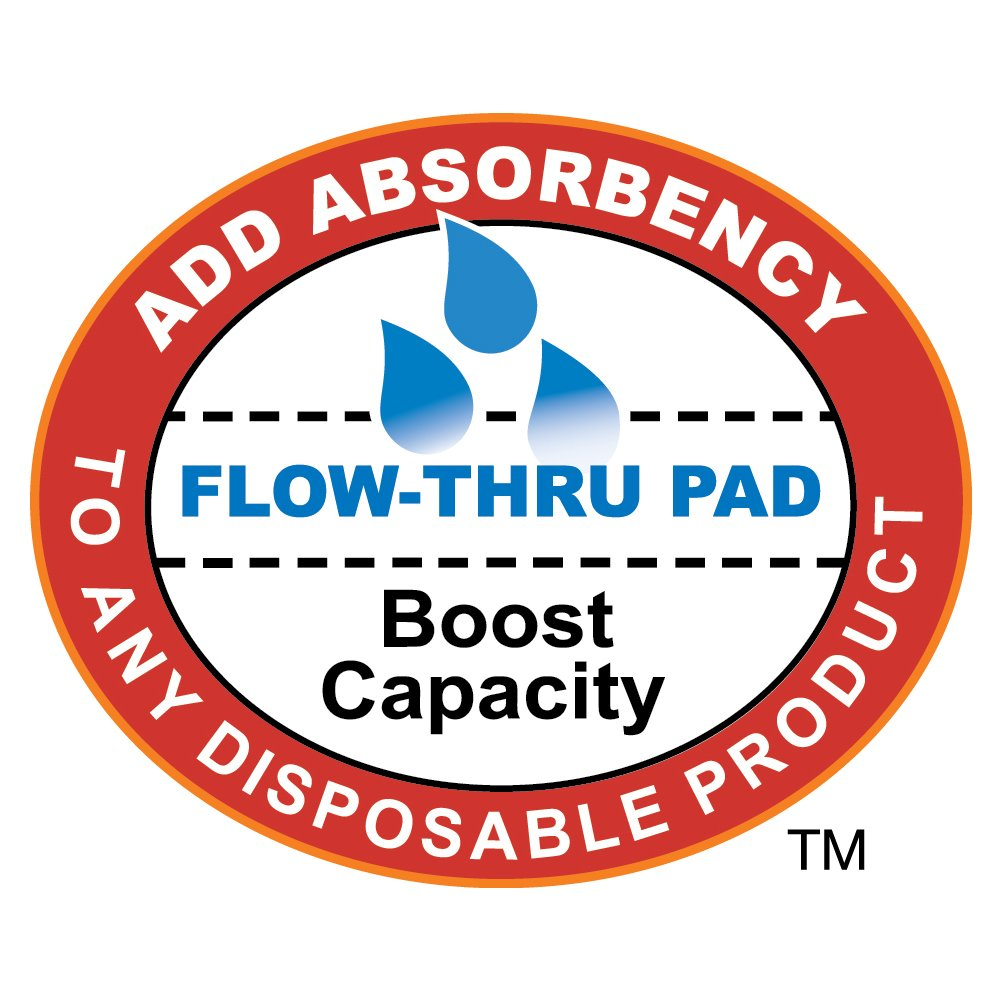 Tranquility TopLiner® Disposable Booster Pads - Mini (10.5'' x 2.75'') - 400 ct by Tranquility (Image #5)