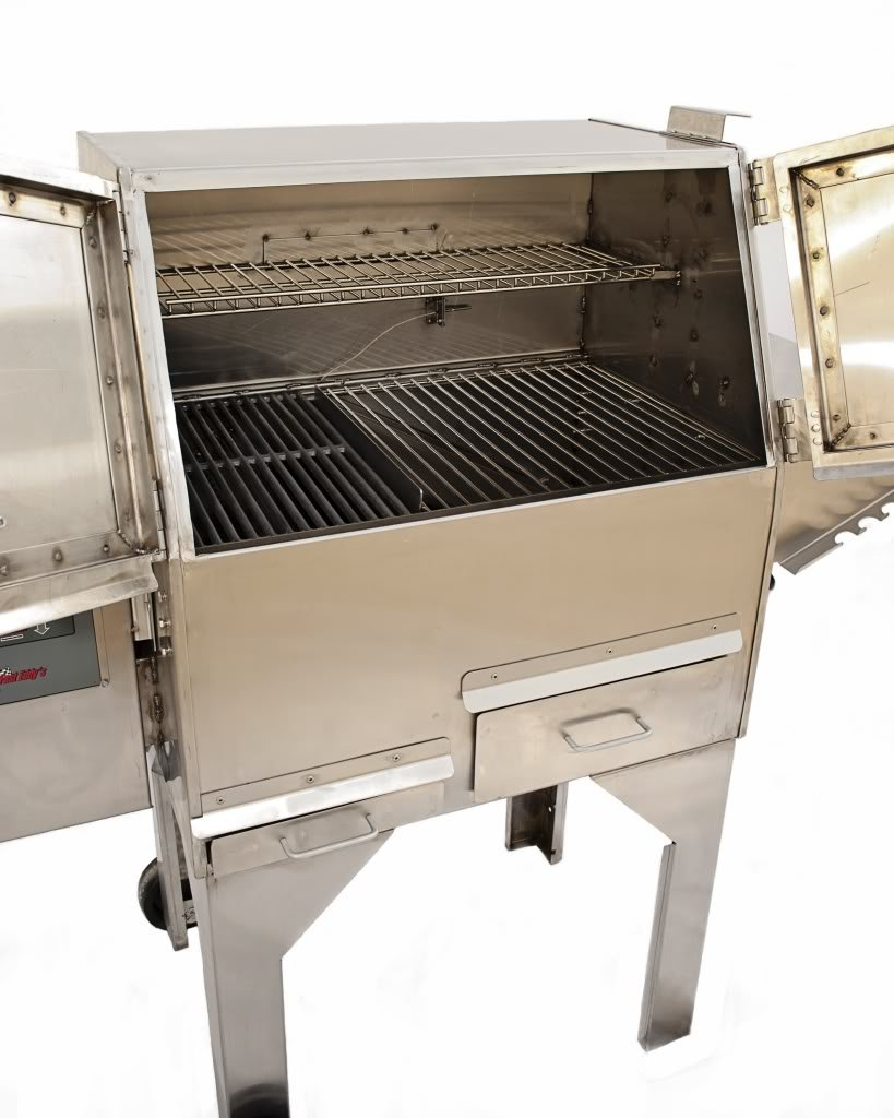 Amazon.com: Cookshack PG500 Fast Eddys Parrilla de pellets ...