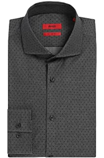 Hugo Boss 50391320 - Camisa para hombre, diseño con logotipo de ...