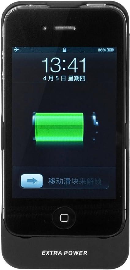 custodia caricabatteria iphone 4s