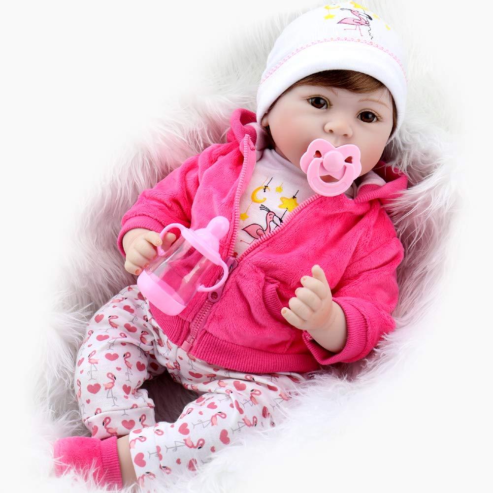 Amazon.com: Aori Lifelike Muñeca de bebé renacido realista ...