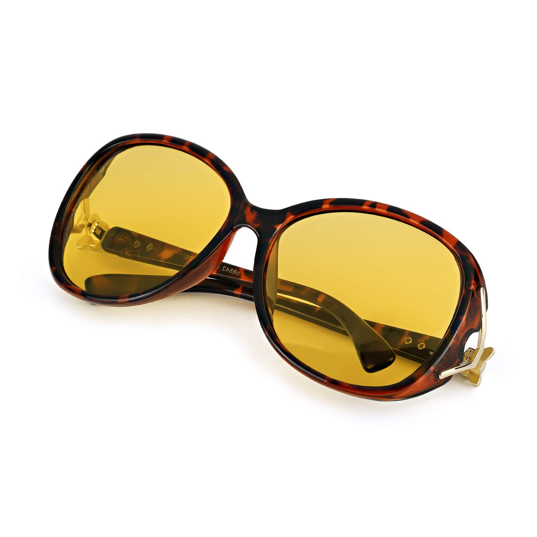 b33f8faf552d1 Amazon.com  TosGad Oversized Night Vision Glasses for Women