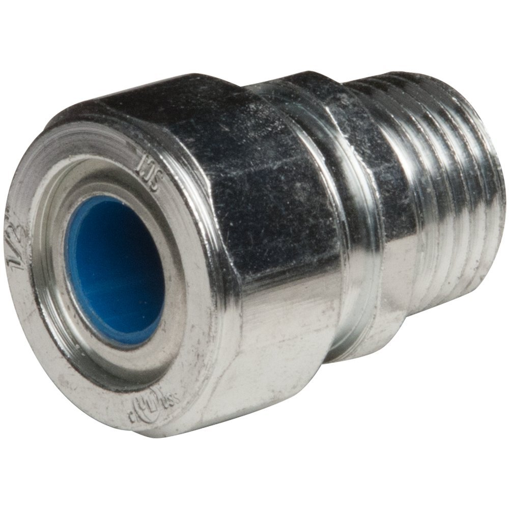 Hubbell-Raco 3722-2 Hubbell-Raco Cord Grip Connector 1/2 (0.35 - 0.45) Blue, (Pack of 25)
