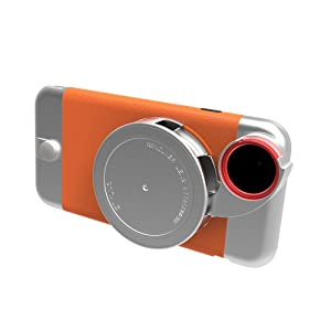 Ztylus<strong> iPhone 6s / 6 Metal Series Camera Kit w/ 4-in-1 Lens Attachment, Premium Matte Polycarbonate with Hand Polished Metal Accents</strong>