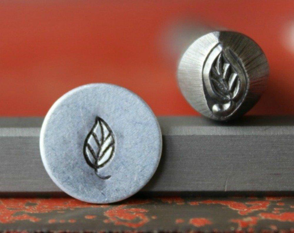 Supply Guy 7mm Large Leaf Metal Punch Design Stamp 375-30 SG375-30