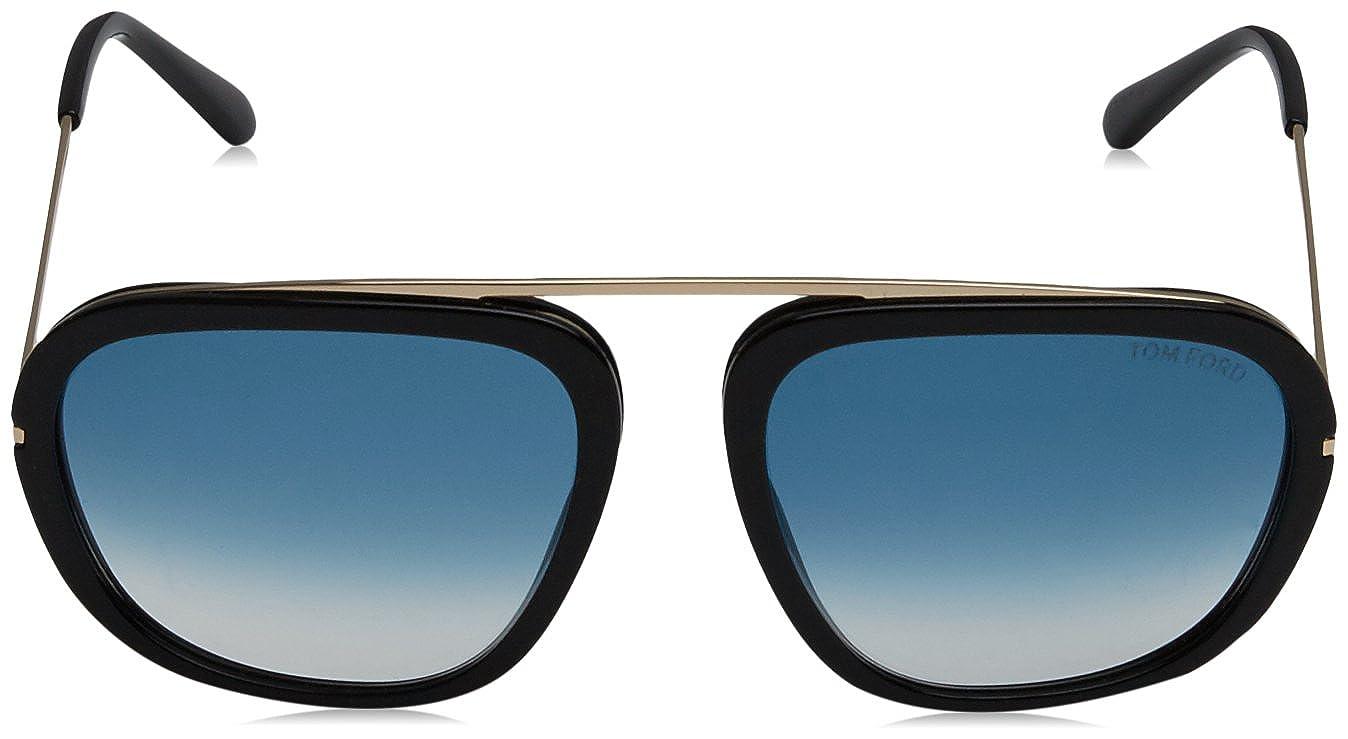 0c35d12129 Tom Ford Womens Men s Johnson 57Mm Sunglasses at Amazon Men s Clothing  store