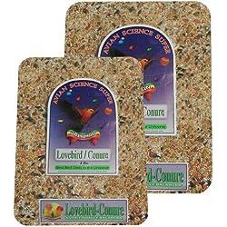 Volkman Avian Science Lovebird - Conure 4lb (2) Pack