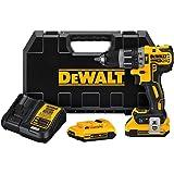 DEWALT DCD797D2 20V Max XR Tool Connect COMPACT Hammerdrill Kit
