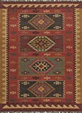 Bedouin Red Tribal Rug Rug Size: 2' x 3'