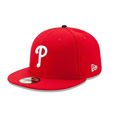 f78d764a0711f Amazon.com  New Era 59FIFTY Philadelphia Phillies MLB 2017 Authentic  Collection On-Field Game Fitted Hat  Clothing