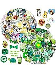 NALCY Schattige stickers voor meisjes, 100 stuks, kleine versheid graffitistickers, zelfklevende graffiti-stickers, voor meisjes, waterdicht, decoratieve stickers voor fiets, skateboard, bagage, laptop