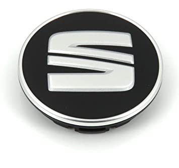 4x SEAT SCHWARTZ SILBER Logo 56mm Nabenkappen Nabendeckel Radkappen Felgendeckel Rad Vollst/ändiger Satz Kappen 6LL 601 171 5JA 601 151A 5JA601151A 5JA601151 1JO601171 1J0 601171 FR SPORT PERFORMANCE IBIZA LEON ALHAMBRA AROSA ALTEA MII TOLEDO und weite
