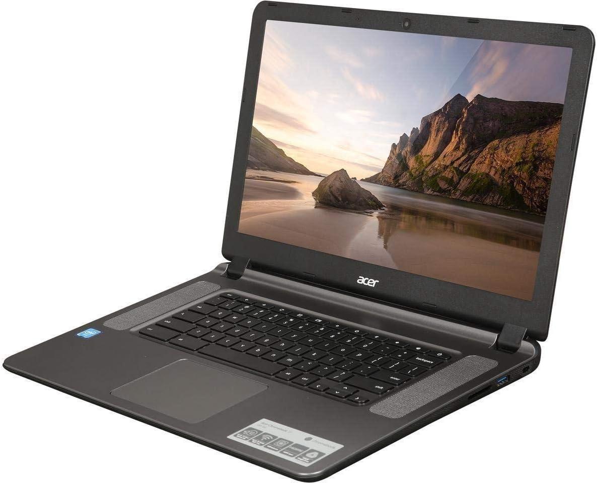 Acer 15 CB3-532-C47C 15.6″ Chromebook - Celeron N3060 1.6 GHz - 2 GB RAM - 16 GB SSD - Granite Gray (Renewed)