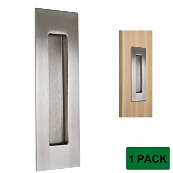 Captivating Probrico MH018SS Sliding Door Cabinet Drawer Handle Rectangular Recessed  Flush Pull 6u0026quot; Long