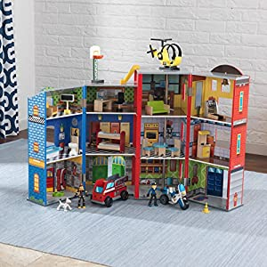 KidKraft Everyday Heroes Play Set - 61mhvWjFcZL - KidKraft Everyday Heroes Play Set