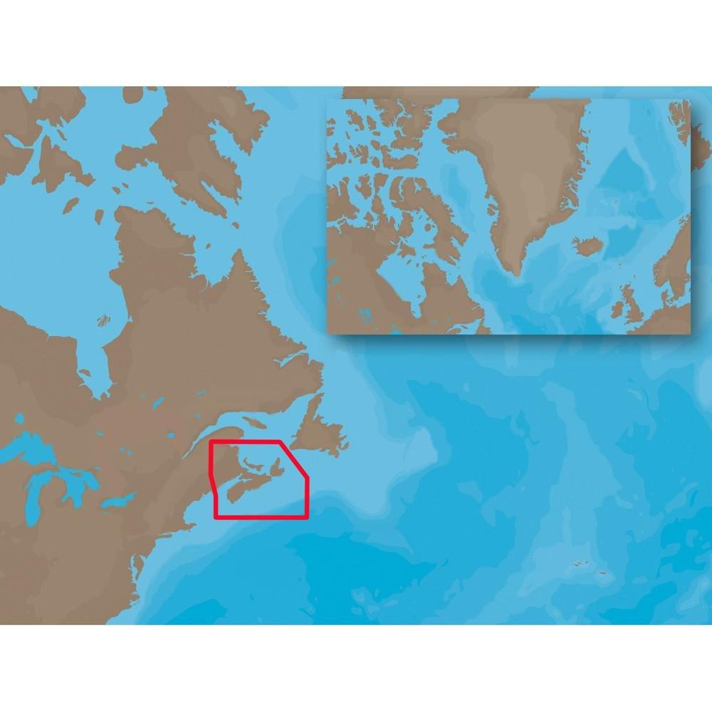 C-MAP NT+ NA-C205 - Fundy, Nova Scotia, Pei & Cape Breton - Furuno FP-Card