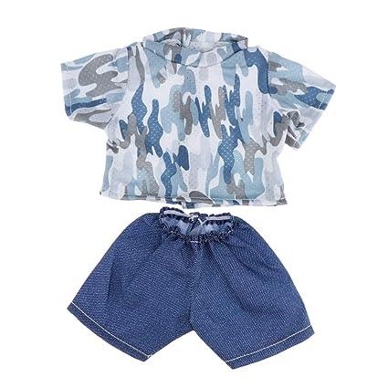 Amazon.es: Traje de Vestir Miniatura para 18 Pulgadas Muñeco ...