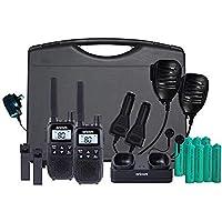 Oricom UHFTP2390 2 Watt Handheld UHF CB Radio Trade Pack, Black