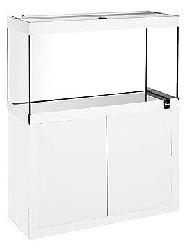 Diversa Fin Line LED 120 * 50 White Acuario Completo de Mueble y luz de LED 30 W: Amazon.es: Productos para mascotas