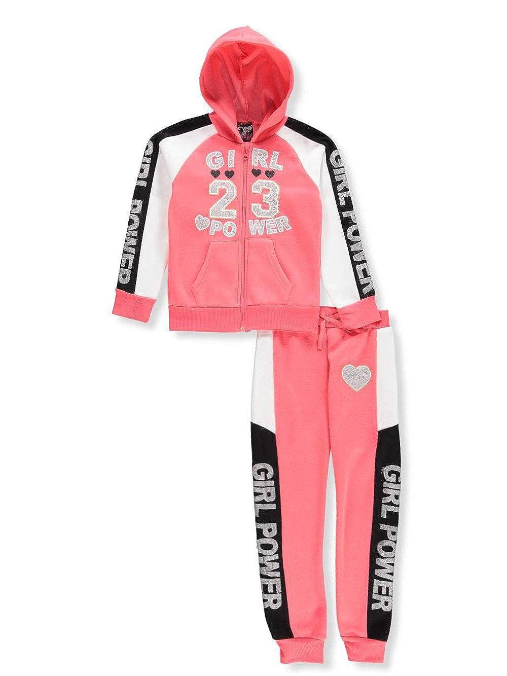 Real Love Girls' 2-Piece Sweatsuit Pants Set