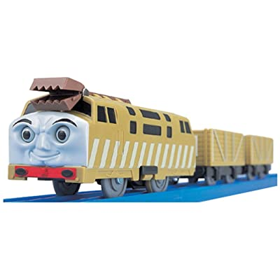 Plarail - THOMAS & FRIENDS: TS-09 Plarail Diesel 10 (Model Train): Toys & Games