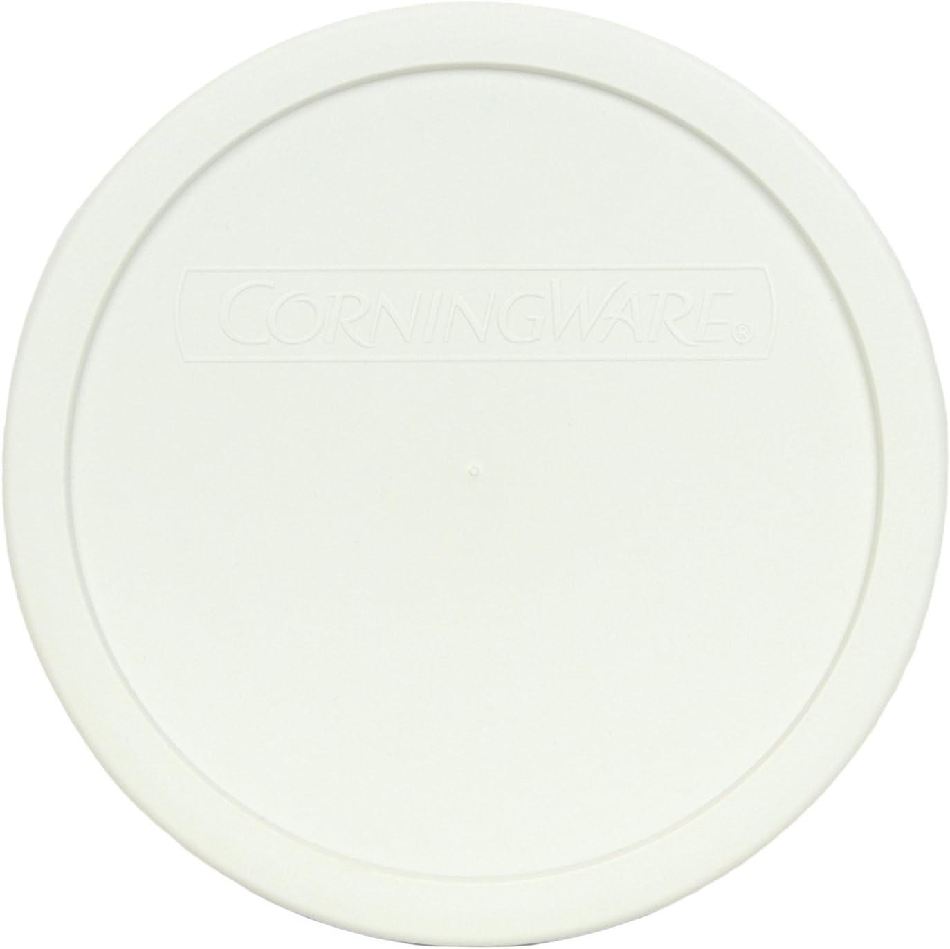 CorningWare F-5-PC French White 1.5qt Round Plastic Cover