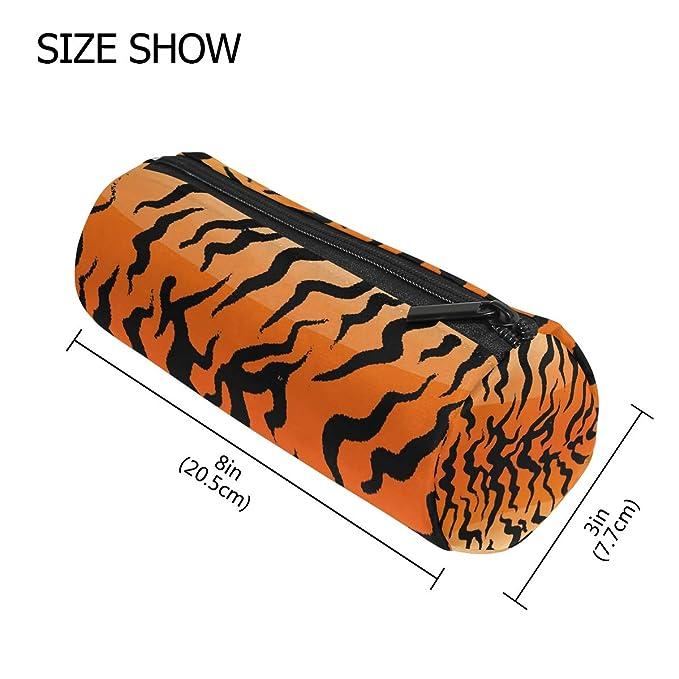 Tiger Stripe - Estuche para lápices escolares, con textura ...