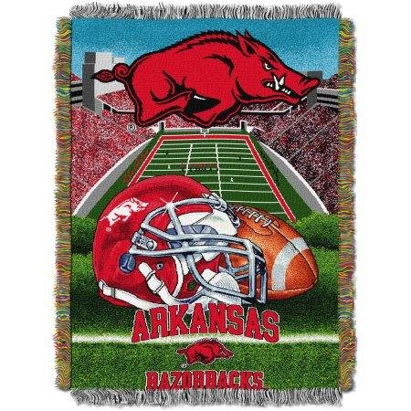 Northwest Arkansas Razorbacks 48'' x 60'' Tapestry Throw Blanket - Home Field Advantage Series by Northwest