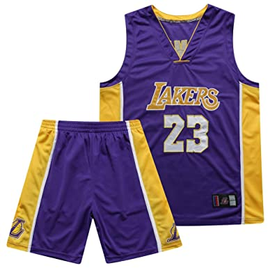 James 23 Kobe 24 Bryant 8 para fanáticos de los Lakers Jersey ...