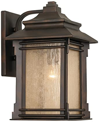 Franklin Iron Works Hickory Point 15 High Outdoor Light