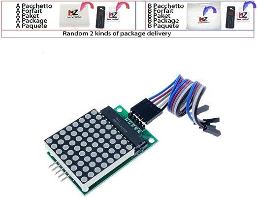 MAX7219 Dot led matrix module MCU control LED Display module for Arduino