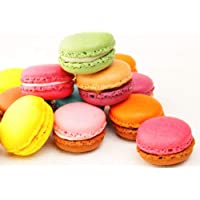 Andy Anand French Macarons 12 Pcs Made Fresh Daily, Gift Boxed & Greeting Card, Delicious, Succulent, Divine Birthday…