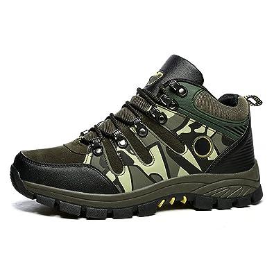 Men's Hiker Shoes Winter Waterproof Hiking Boot for Outdoor Mountaineering