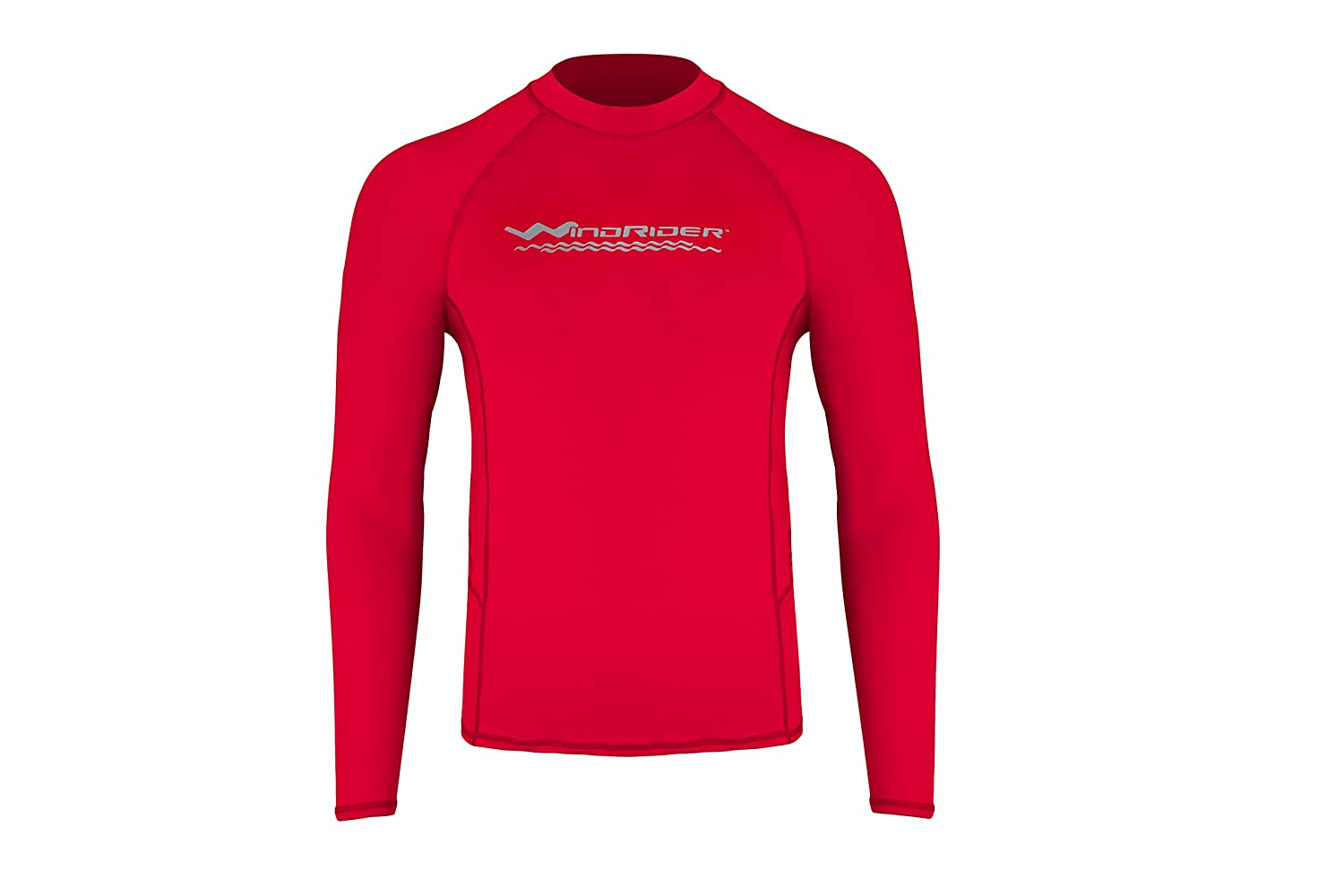 WindRider Men's Rash Guard Swim Shirt – Long Sleeve UPF 50+ Performance Fit