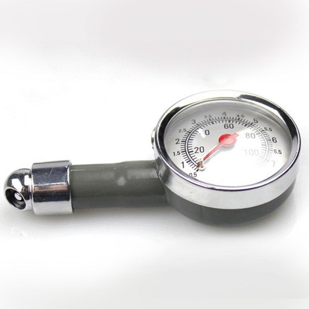 Car Air Pressure Meter Metal Tire Pressure Gauge manometers AUTO Tester Diagnostic Tool High Precision