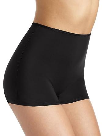 e03579fd0e Ex M   S Knickers No VPL High Rise For Women Light Control Shorts Shapewear  Black 8-20  Amazon.co.uk  Clothing
