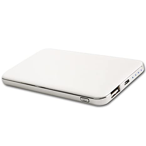 Amazon.com: smodo 843 6500 mAh batería externa, Power Bank ...