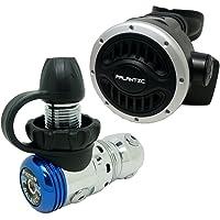 Palantic SCR-02-DIN-NA - Regulador de Buceo AS103 DIN de Segunda Etapa con Manguera de 27 Pulgadas