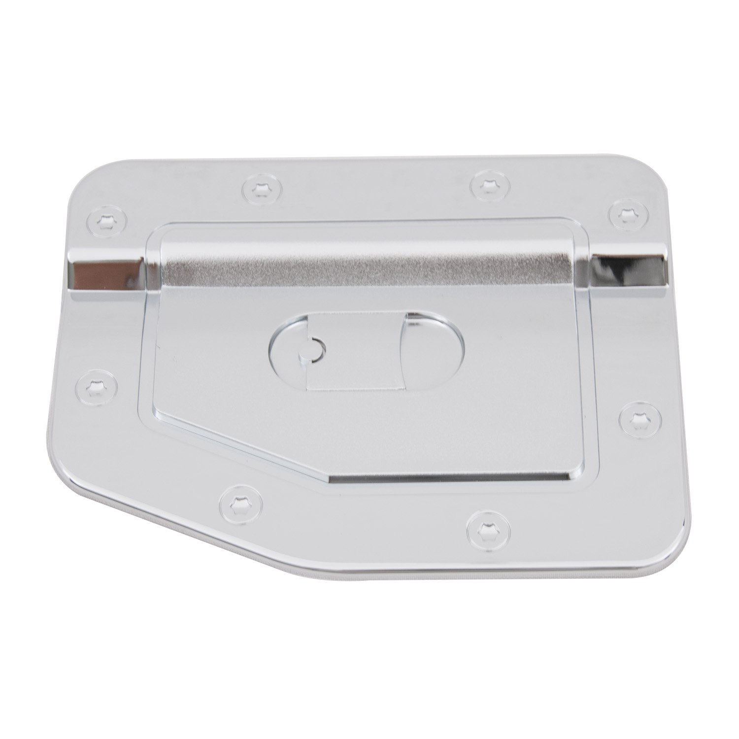 EAG Fit for 86-97 Nissan Hardbody Gas Door Cover Triple Chrome Plated ABS