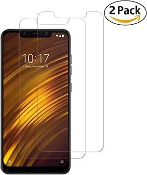 2 Pack] Xiaomi Pocophone F1 Protector Pantalla, Litushome [9H ...