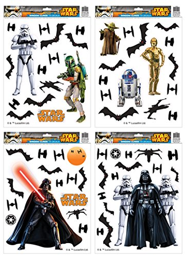 Star Wars Window Cling Set