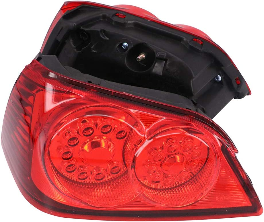 AnXin Feu arri/ère de Moto LED Clignotant pour Honda Goldwing GL1800 2001-2012