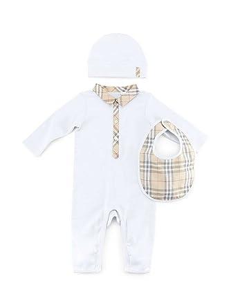8dbd5285d06 Burberry Infant Baby Carlos Boxed White Bodysuit