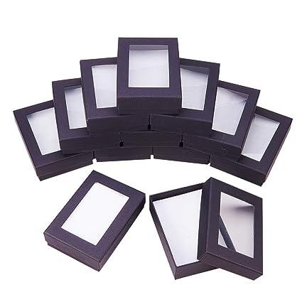 21f3acdd2 NBEADS 30PCS Black Gift Boxes Presentation Box with Padding - Birthday Gift  Box - Necklace Box