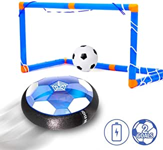 xiangpian183 Juguetes para niños Hover Soccer Ball Recargable Air ...