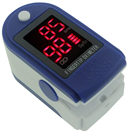 Oxímetro de pulso, la yema del dedo para cebar pulsómetro oximetría tensiómetro Monitor con pantalla