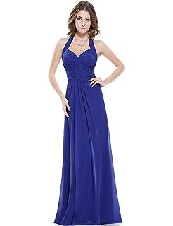 Ever-Pretty Elegante Vestido de Fiesta Largo sin Mangas sin ...