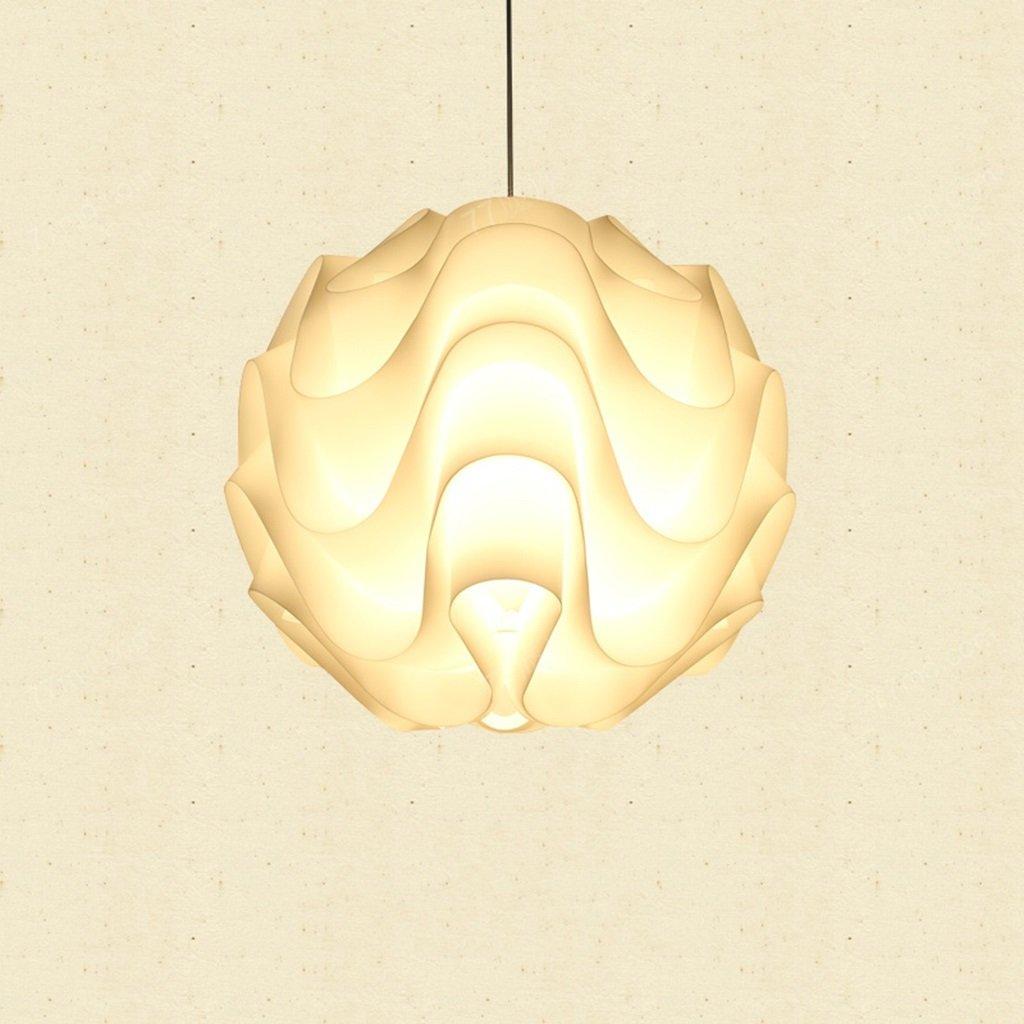 Modern Deckenlampe Wave Ball Kronleuchter, einfaches Wohnzimmer Restaurant Schlafzimmer Studie Lampen und Laternen Restaurant Beleuchtung Balkon Schlafzimmer (Größe   18cm)