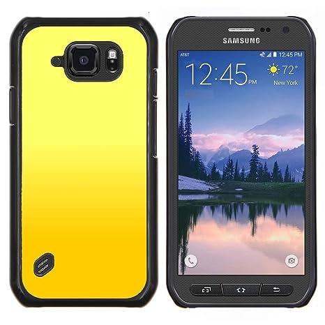 For Samsung Galaxy S6active Active G890a Case Sfondo Giallo